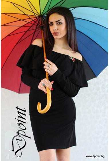 Дамска пролетна рокля Лили