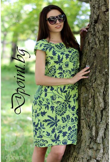 Лятна рокля от лен Маги