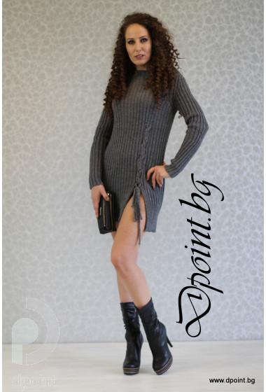 Плетена рокля - туника Серена