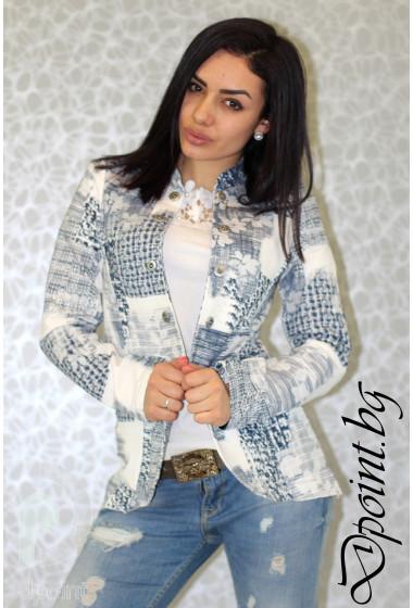 Дамско сако с копчета Кали