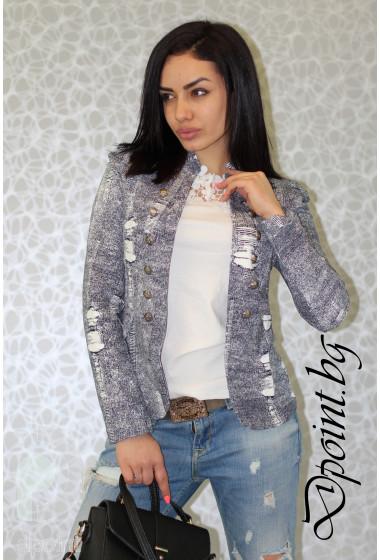 Дамско сако с копчета Мириан