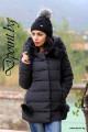 Зимно дамско яке с пухчета Ранди