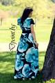 Дълга лятна рокля Яна