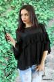 Блуза с харбали от шифон Кери