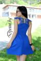 Елегантна рокля с дантела Берна
