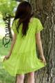 Лятна рокля от памук и дантела Яница