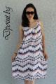 Лятна рокля с дантела на гърба Шери