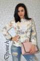 Дамско сако на цветя Лоли