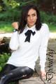 Актуална блуза с яка Нора