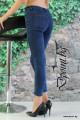 Дамски дънки с висока талия Нола