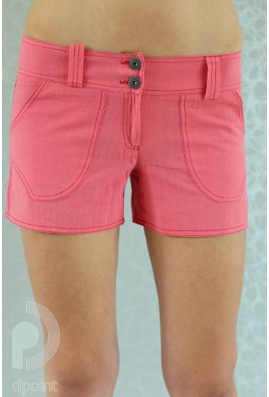 Къс панталон от памучен плат Кали