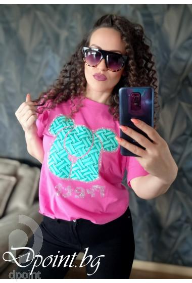 Стилна рокля от сатен Дана