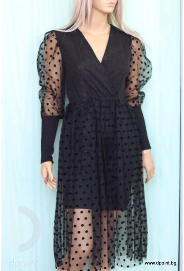 Елегантна рокля Сабрина