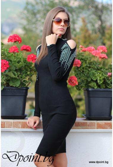 Елегантна рокля от плетиво Дани
