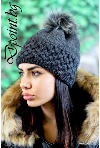 Зимна шапка Анжела