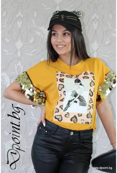 Дамска лятна блуза Гери