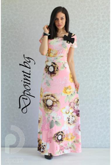 Дълга лятна рокля Синтия