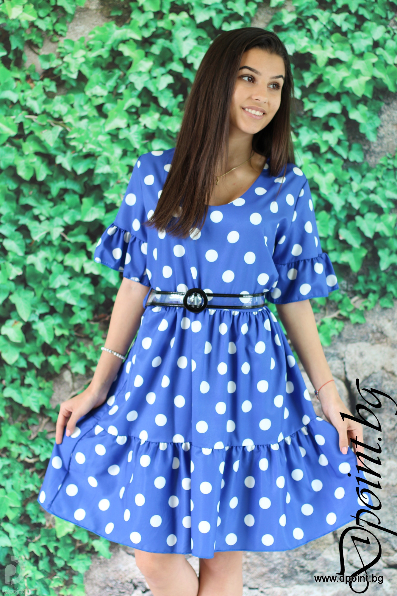 630fb1661ae Лятна рокля на точки Рамона