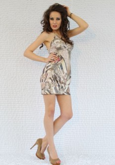 Лятна рокля от трико Мелани