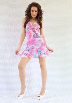 Лятна рокля от шифон Ани