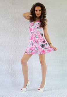 Лятна рокля от шифон Мира