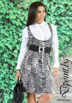 Дамска рокля Мануела