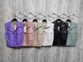 Актуален дамски кожен елек с джобове Лия