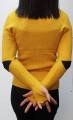 Дамска блуза с поло Дориана