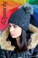 Красива плетена шапка Мишел