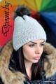 Плетена дамска шапка Лаура