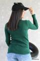 Дамска блуза с дантела на деколтето Лия