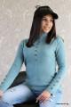 Дамска блуза с копчета Паула