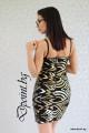 Елегантна рокля с пайети Лейла