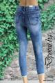 Дамски дънки с цветя Лорен