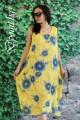 Лятна рокля голям размер Сузана