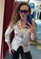 Нежно дамско сако със силно втален силует Жасмин
