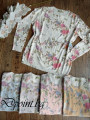 Свободна дамска блуза на цветя Памела