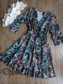 Елегантна дамска рокля от сатен Стейси