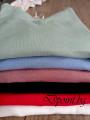 Актуална есенна блуза с набрани ръкави Анджела