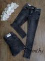 Черни дамски дънки Slim fit - Олга